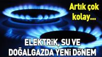 Elektrik ve doğal gaz aboneliği için e-devlet dönemi