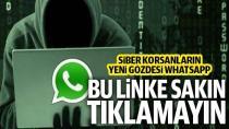 WhatsApp'ta paylaşılan bu linke sakın tıklamayın!