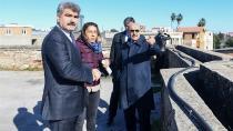 Vali Demirtaş, esnafı ziyaret etti...