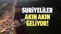 Türkiye sınırına göç edenlerin sayısı 830 bini buldu