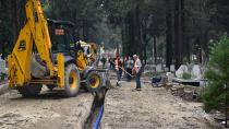 Büyükşehir, mezarlıkların içme suyu sorunu çözüyor