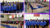 Adana Badminton Kız- Erkek Takımları Yarı Finalde