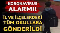 Okullarda koronavirüs uyarısı!