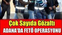 Adana merkezli 13 ildeki FETÖ soruşturmasında 20 gözaltı kararı