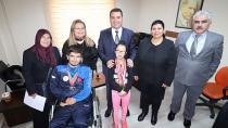 Atlas Engelliler Gençlik ve Spor Kulübü'nden Ataşbak'a Ziyaret