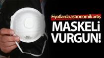 Karaborsaya düştü: Türkiye'de maske fiyatları uçtu!