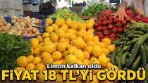 Limon fiyatları uçtu...