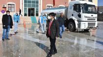 Başkan Ergü'den 'evde kalın' çağrısı