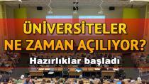 Üniversitelerde ilk normalleşme adımı 15 Haziran'da atılacak