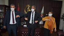 CHP Adana Milletvekilleri'nden baroya destek ziyareti...