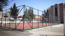 Adana Valiliği 16 okula spor sahası yaptırdı...