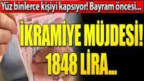 Yüz binlerce çalışana ikramiye müjdesi! 1848 lira...