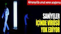 UV ışınları virüsü yok ediyor...