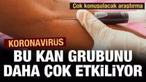 İşte virüste daha riskli olan kan grupları