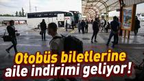 Otobüs biletlerine yeni düzenleme!