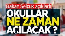 Milli Eğitim Bakanlığı okulların açılacağı ve kapanacağı tarihi paylaştı