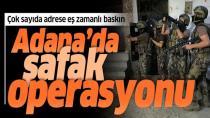 Adana merkezli 4 ilde uyuşturucu operasyonu: 40 gözaltı kararı