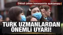 Türkiye, virüsü bu yol ile atlatamaz!