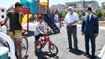 Sarıçam'da parklar yenileniyor!
