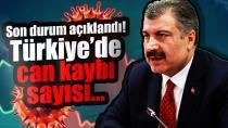 11 Temmuz Türkiye koronavirüs tablosu!