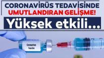 Koronavirüs aşısında umutlandıran gelişme!