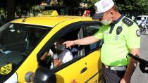 Polislerin dezenfektan sorduğu taksici, tıraş losyonu gösterdi