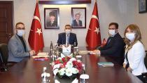 Vali Elban Robotik-Kodlama Faaliyetleri Hakkında Brifing Aldı