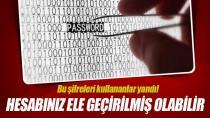 Bu şifreleri asla kullanmayın!