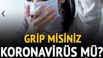 Koronavirüs öksürüğü nasıl ayırt edilir?