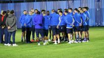 Samet Aybaba, Demirspor'un başında ilk antrenmanına çıktı