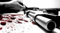 Eski eşinin evinde tabancayla vuruldu