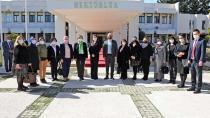 Kadın Kooperatiflerinden Rektör Tuncel'e Ziyaret