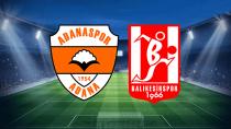 Adanaspor'dan 'Bal' tadında puan: 1-1