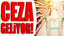 Gıdada taklit işletmelere yıllık gelirlerinin yüzde 1'i kadar ceza verilecek
