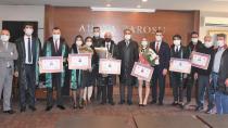 Genç hukukçular törenle avukatlığa adım attılar...