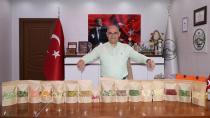 Başkan Çay, 'Kurutma Merkezi' ürünlerini sergiledi...