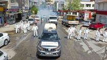 Büyükşehir'den Kozan'da temizlik ve dezenfekte çalışması