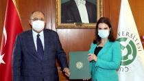 """ÇÜ'de """"Afet Farkındalık Eğitimi İşbirliği"""" Protokolü İmzalandı"""