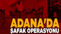 Adana'da 98 firariye şok polis baskını...