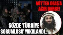 DEAŞ'ın sözde Türkiye vilayeti sorumlusu, yakalanarak Türkiye'ye getirildi