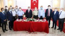 Adana'da bayramlaşma töreni düzenlendi