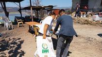 Adana İHH ekipleri şimdide yangın bölgelerine koştu!