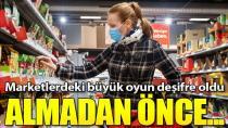 Zincir marketlerde fahiş fiyat ve gramaj oyunu
