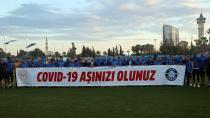 Adana Demirsporlu futbolculardan 'aşı olun' çağrısı