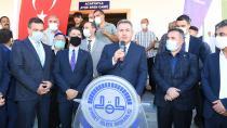 Adana'da orman yangınında yanan cami yeniden ibadete açıldı